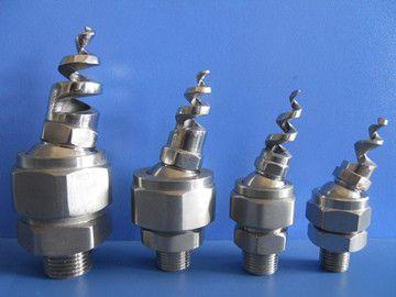 可调球形螺旋喷嘴设计特点: ●结构紧凑,具有畅通不堵塞的无内芯直通